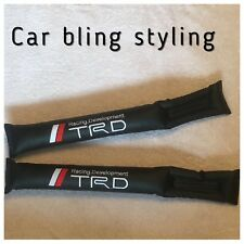 TRD Gap Filler Cintura Pad Del Sedile Filler nero in finta pelle