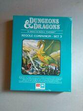 Set 3 Companion in italiano  Nuovo Cellophanato Dungeons & Dragons D&D TSR