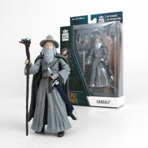 "LORD OF THE RINGS Gandalf BST AXN 5"" Action Figure"