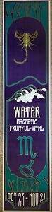 Vintage 60s SCORPIO Astrology Zodiac Psychedelic Poster Lithograph Wespac NOS
