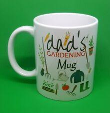 Dads gardening coffee mug tea outdoors novelty present birthday free gift box...