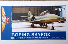BOEING SKYFOX -  Sharkit   - resin 1/72