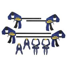 IRWIN 8-Piece QUICK-GRIP Handi-Clamps  Spring Clamps Assortment Set