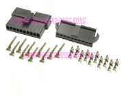 JST 2.5 SM 10-Pin Male Female connector housing Plug with Crimp terminal 10 sets
