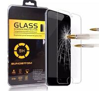 5x  Genuine Tempered Glass Film Screen Protector for Apple iPhone 7, 8 Plus New