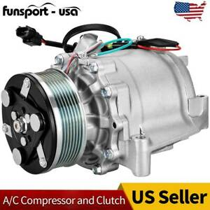 cciyu AC Compressor and A//C Clutches Set for Nissan Quest 2011-2015 Replacement fit for CO 29148C Auto Repair Compressors Assembly