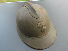 CASQUE ADRIAN 1915 MOUTARDE MODÈLE DU COMMERCE WW1 ORIGINAL LEGION ETRANGERE