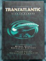 Transatlantic Live In Europe 2xDVD & 2xCD Ltd Ed – Neal Morse, Marillion – Mint