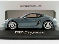 Minichamps/Porsche WAP0204010G Porsche 718 Cayman in graphiteblue 1:43 NEU/OVP