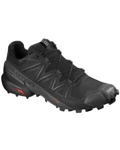 Salomon Speedcross 5 Trail Running Shoes Man , Black/Black/Phantom