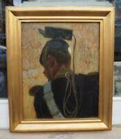 Robert von HAUG (1857-1922 Stuttgart) Französischer Infanterist Impressionismus