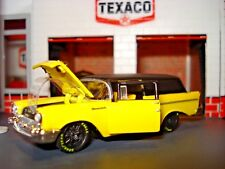 1957 CHEVROLET SEDAN DELIVERY 2 DOOR WAGON LIMITED EDITION 1/64 PRO TOURING CAR