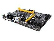 BIOSTAR TB85 Motherboard Intel B85, Socket 1150, ATX, DDR3-1600 for ETH, ZEC