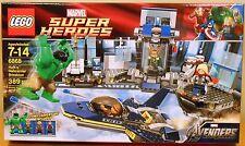 LEGO Marvel 6868 Hulk's Helicarrier Breakout NEW Super Heroes Thor + Hawkeye