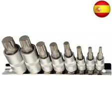 XZN Juego de llaves de vaso multidientes I M4 M5 M6 M8 M10 M12 M14 M16 I Juego