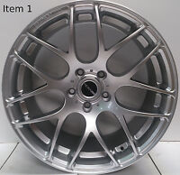 Alloy wheels for BMW 1 series and 2 series 3 series 18 inch hypersilver set of 4