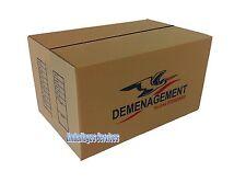 10 CARTONS EMBALLAGE DEMENAGEMENT 545 x 345 x 300 mm - LIVRAISON  DOMICILE
