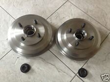 FORD FIESTA MK 6 02-07 ONE REAR BRAKE DRUM WITH FITTED BEARING & LOCK NUT