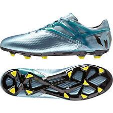 "New Men adidas Soccer Cleats ""Messi 15.1 FG/AG Sz 12 Matte Ice Metallic B23773"