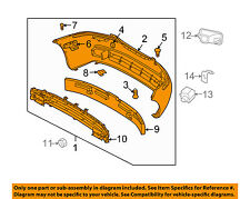 Chevrolet GM OEM 04-06 Aveo FRONT-Bumper Assembly 93740442