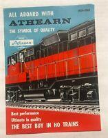 Beautiful 1959-60 Athearn HO Model Railroad Electric Train Catalog             C