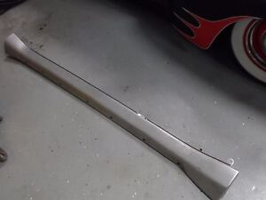 04 05 06 Pontiac GTO LH Rocker Panel Cover Driver Side Silver Holden LS1 LS2 GM