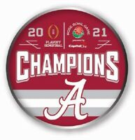 2021 ROSE BOWL ALABAMA CRIMSOM TIDE CFP CHAMPIONS ? GAME PIN COLLEGE TITLE GAME
