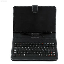 B2C1 Black Leather Case with MINI Micro USB Keyboard For 7 Inch 7'' Tablet PC