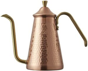 Kalita Tsubame Drip Pot Slim Copper 700CUX #52203 From Japan Fast Shipping