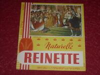 [ART & PUBLICITE, COLL] BUVARD ANCIEN BISCOTTES REINETTE 1814 Sacre de Napoléon