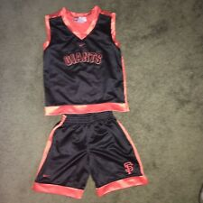 Giants and Superman Boys Short Sets Size 4-5