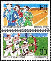 BRD (BR.Deutschland) 1127-1128 (kompl.Ausgabe) postfrisch 1982 Sport