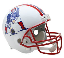 NEW ENGLAND PATRIOTS (1990-92 Throwback) Riddell Deluxe REPLICA Helmet