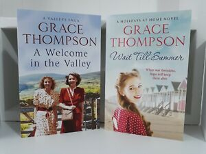 Collection of 2 x Paperback Saga Books - Grace Thompson - A Welcome, Wait - NEW