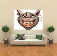 Alice In Wonderland Alicia Gato de Cheshire Gigante impresión arte cartel Pared x1302