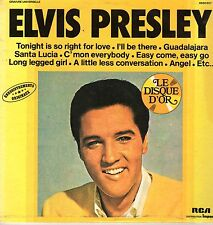 Elvis Presley LP RCA/Impact, 197?, (French Import) 6886807, Le Disque D'or ~ NM-