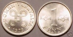 Hors-Circulation 1979 Finlande 1 Penni < Dure An Ever Minted