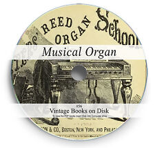 Rare Books on DVD History Church Pipe Organs Reed  Learn to Play Method Tune 56