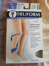 Truform  Thigh High Firm Compression Stockings ~ Beige ~20-30 mmHg ~ 8868BG-M