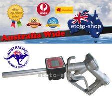 Digital Petrol Diesel Fuel Nozzle & Flow Meter LCD Display