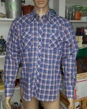 Vintage 80s Mens Western Button Down Shirt, Large Tom Sailor Excellent Condition