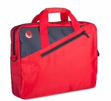 "NGS Ginger Red - 15.6"" Laptop bag with external pocket - Monray Ginger - Red"