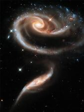 ART PRINT POSTER SPACE STARS GALAXY HUBBLE SPIRAL UNIVERSE GALAXIES NOFL0403