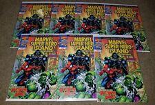 Marvel Comic Spiderman 1 NM Super-Hero Island book Promo Giveaway Spiderman Doom