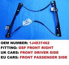 4/5 porte golf iv MK4 front righ * uk voiture côté conducteur * électrique fenêtre régulateur