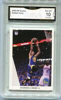 Stephen Curry Aceo Custom Rookie Style  Card Gem Mint 10