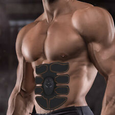 EMS Muscle Abs Stimulator Abdominal Fitness Training Electric Body Belt Stickers