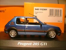 WOW VERY RARE MINICHAMPSMAXICHAMPS 1/43 1990 PEUGEOT 205 GTI 1.9 OUTSTANDING NLA