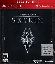 Elder Scrolls V: Skyrim (greatest hits) (Sony Playstation 3, 2011)
