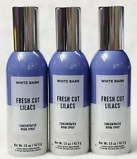 3 Bath Body Works FRESH CUT LILACS Mini Concentrated Spray Mist Room Perfume